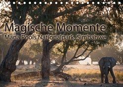 Magische MomenteMana Pools Nationalpark, Simbabwe (Tischkalender 2018 DIN A5 quer) von Täuscher,  Julia