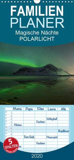 Magische Nächte – POLARLICHT – Familienplaner hoch (Wandkalender 2020 , 21 cm x 45 cm, hoch) von Schratz blendeneffekte.de,  Oliver