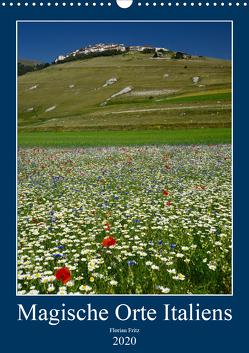 Magische Orte Italiens (Wandkalender 2020 DIN A3 hoch) von Fritz,  Florian