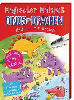 Magischer Malspaß: Dinos und Drachen von Poitier,  Anton