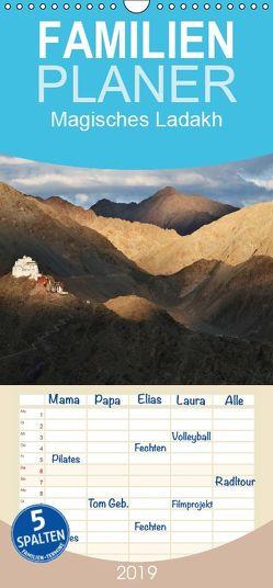 Magisches Ladakh – Familienplaner hoch (Wandkalender 2019 , 21 cm x 45 cm, hoch) von Becker,  Bernd