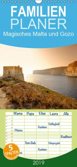 Magisches Malta und Gozo – Familienplaner hoch (Wandkalender 2019 , 21 cm x 45 cm, hoch) von Papenfuss,  Christoph