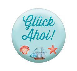 Glas-Magnet Glück Ahoi! von Groh Redaktionsteam