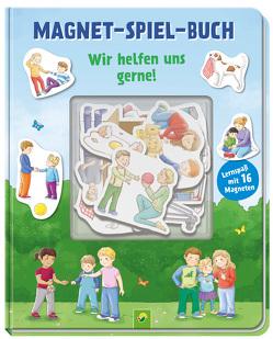 Magnet-Spiel-Buch Vom Teilen Streiten und Vertragen von Spießmacher,  Iris