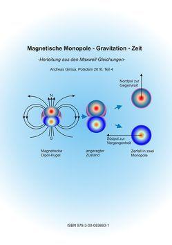 Magnetische Monopole – Gravitation – Zeit von Gimsa,  Andreas