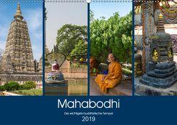 Mahabodhi – Der wichtigste buddhistische Tempel (Wandkalender 2019 DIN A2 quer) von Santanna,  Ricardo