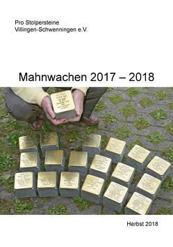 Mahnwachen 2017-2018 von Pro Stolpersteine Villingen-Schwenningen e. V.,  Engelke,  Friedrich