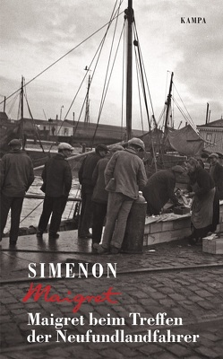 Maigret beim Treffen der Neufundlandfahrer von Simenon,  Georges