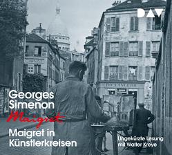 Maigret in Künstlerkreisen von Becker,  Julia, Klau,  Barbara, Kreye,  Walter, Simenon,  Georges, Stockmann,  Wolfgang, Wille,  Hansjürgen