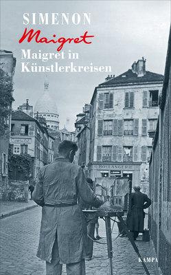 Maigret in Künstlerkreisen von Becker,  Julia, Klau,  Barbara, Simenon,  Georges, Wille,  Hansjürgen