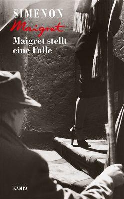 Maigret stellt eine Falle von Klau,  Barbara, Simenon,  Georges, Wille,  Hansjürgen