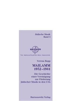 Mailamm 1932-1941 von Bopp,  Verena