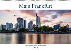 Main Frankfurt (Wandkalender 2018 DIN A2 quer) von ncpcs,  k.A.