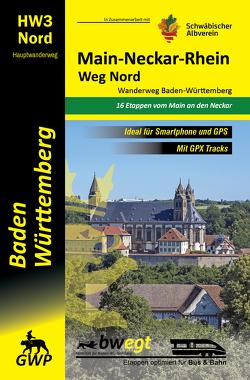 Main-Neckar-Rhein-Weg Nord HW3   Wanderweg Baden-Württemberg