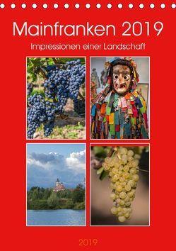 Mainfranken 2019 (Tischkalender 2019 DIN A5 hoch) von Will,  Hans