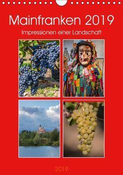Mainfranken 2019 (Wandkalender 2019 DIN A4 hoch) von Will,  Hans