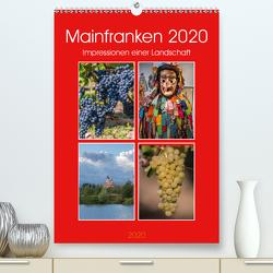 Mainfranken 2020 (Premium, hochwertiger DIN A2 Wandkalender 2020, Kunstdruck in Hochglanz) von Will,  Hans