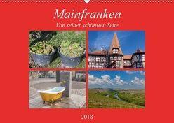Mainfranken von seiner schönsten Seite (Wandkalender 2018 DIN A2 quer) von Will,  Hans