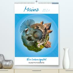 Mainz. Ein Lebensgefühl (Premium, hochwertiger DIN A2 Wandkalender 2021, Kunstdruck in Hochglanz) von Ruffinengo,  Rolando
