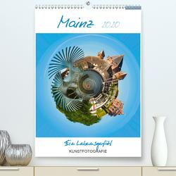 Mainz. Ein Lebensgefühl (Premium, hochwertiger DIN A2 Wandkalender 2020, Kunstdruck in Hochglanz) von Ruffinengo,  Rolando