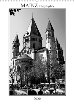 Mainz Highlights (Wandkalender 2020 DIN A2 hoch) von Möller,  Michael