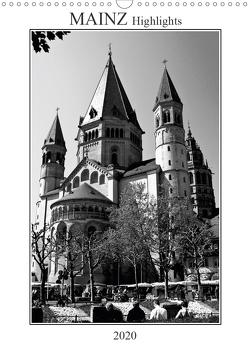 Mainz Highlights (Wandkalender 2020 DIN A3 hoch) von Möller,  Michael