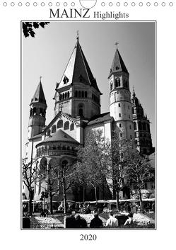 Mainz Highlights (Wandkalender 2020 DIN A4 hoch) von Möller,  Michael
