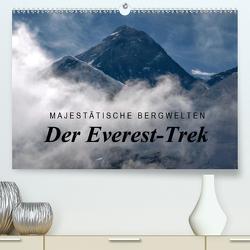 Majestätische Bergwelten – Der Everest Trek (Premium, hochwertiger DIN A2 Wandkalender 2021, Kunstdruck in Hochglanz) von Tschöpe,  Frank