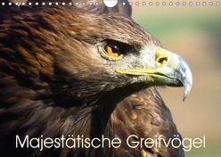 Majestätische Greifvögel (Wandkalender 2019 DIN A4 quer) von Dürr,  Brigitte
