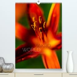 Makro World (Premium, hochwertiger DIN A2 Wandkalender 2020, Kunstdruck in Hochglanz) von Peter,  Ansgar