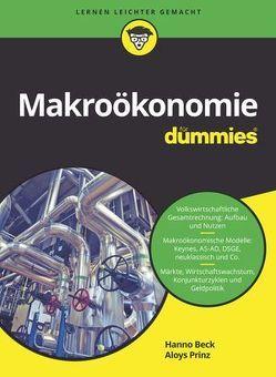 Makroökonomie für Dummies von Beck,  Hanno, Prinz,  Aloys
