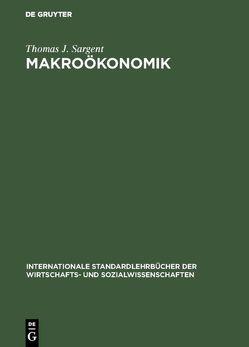 Makroökonomik von Goßner,  Alfred, Obermeier,  Robert, Sargent,  Thomas J.