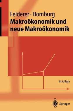 Makroökonomik und neue Makroökonomik von Felderer,  Bernhard, Homburg,  Stefan