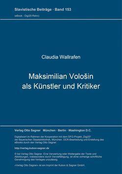 Maksimilian Vološin als Künstler und Kritiker von Wallrafen,  Claudia