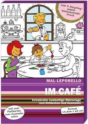 Mal-Leporello: Im Café von Schmied,  Andreas