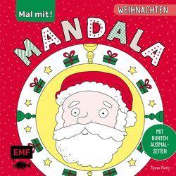 Mal mit! Mandala – Weihnachten von Rath,  Tessa