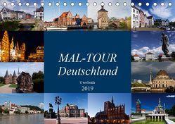 MAL-TOUR Deutschland (Tischkalender 2019 DIN A5 quer) von boeTtchEr,  U