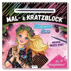 """Mal- und Kratzblock """"Summertime"""""""