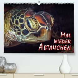 Mal wieder Abtauchen (Premium, hochwertiger DIN A2 Wandkalender 2021, Kunstdruck in Hochglanz) von Gödecke,  Dieter