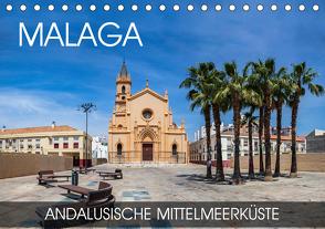 Malaga – andalusische Mittelmeerküste (Tischkalender 2020 DIN A5 quer) von Thoermer,  Val
