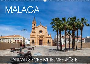 Malaga – andalusische Mittelmeerküste (Wandkalender 2020 DIN A2 quer) von Thoermer,  Val