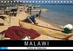 Malawisee Fischer (Tischkalender 2019 DIN A5 quer) von Quentin,  Udo