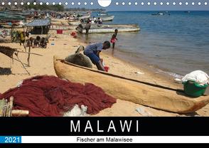 Malawisee Fischer (Wandkalender 2021 DIN A4 quer) von Quentin,  Udo