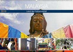 Malaysia – Land der Farbenvielfalt (Wandkalender 2019 DIN A2 quer) von by Sylvia Seibl,  CrystalLights