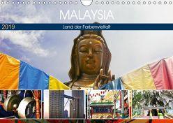 Malaysia – Land der Farbenvielfalt (Wandkalender 2019 DIN A4 quer) von by Sylvia Seibl,  CrystalLights