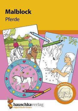 Malblock – Pferde von Specht,  Gisela