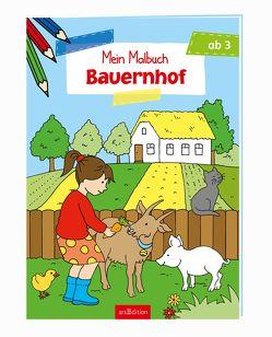 Malbuch ab 3 Jahren – Bauernhof von Beurenmeister,  Corina