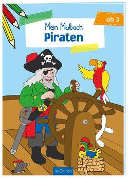 Malbuch ab 3 Jahren – Piraten von Coenen,  Sebastian