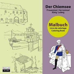 Malbuch Der Chiemsee von Wagner,  Michael