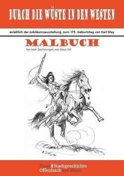 Malbuch frei nach Zeichnungen vom Klaus Dill von Karaca,  Funda, Ortwein,  Sigrid